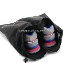 Переработке портативный путешествия складной пыли мешок drawstring обуви