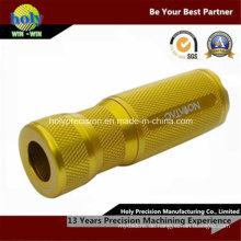 Benutzerdefinierte CNC-Bearbeitung Taschenlampe Anpassung
