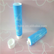 25ml ocean blue lotion plastic pipe with screw cap
