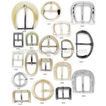 Accesorios de hardware de bolsillo fabricante hebilla de metal de 1 pulgada Metal Adjustable Buckle