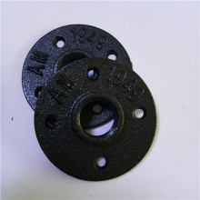 "malleable iron pipe fitting floor flange 1/2"" 3/4"""