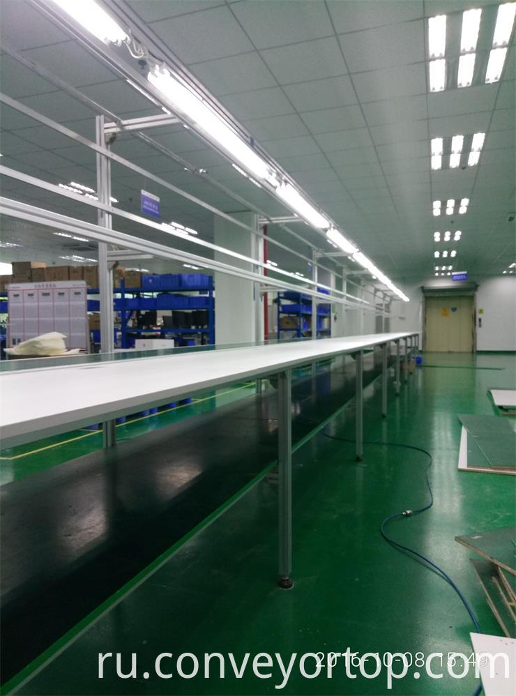 Belt Conveyor System Packing Line
