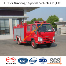2.5ton Isuzu Water Fire Truck Euro4