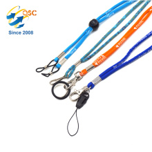 Factory Direct Sale Reasonable Cheap Polyester Tubular Lanyard