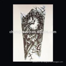 OEM Großhandel Hand Tattoos für Mann Zweig Kreuz Arm Tattoo temporäre Tattoo Arm W-2027