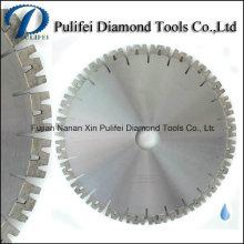 Nueva cuchilla de corte de diamante de corte en húmedo de disco de segmento para sierra de puente