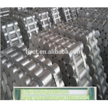 Barra de alumínio do preço da barra do alumínio de alumínio redondo do boleto 6063