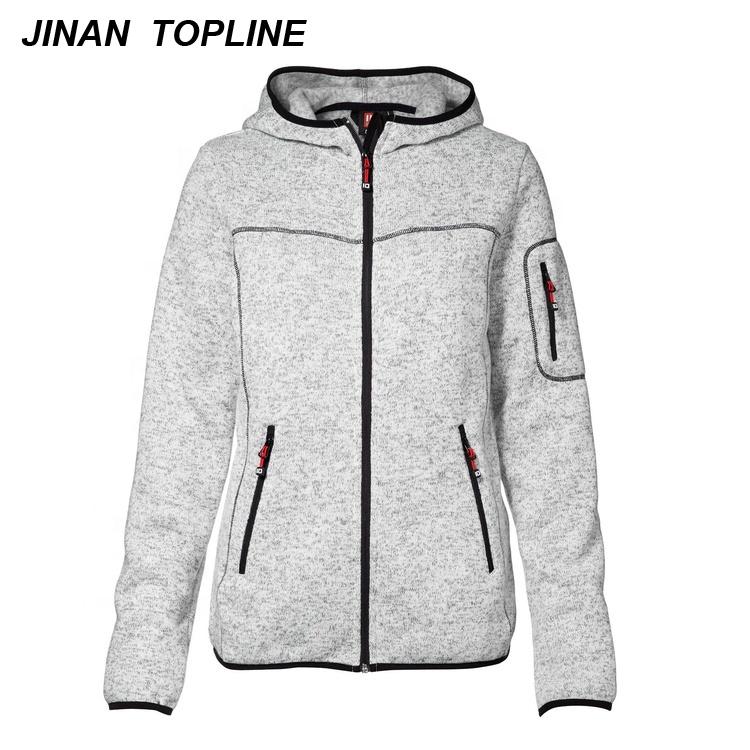 Women's Polar Fleece Jacket With Zipper