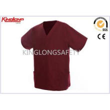 Fashionable Printed Embroidery Hospital Uniforms S / M / L