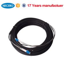 Color personalizado cubierta exterior Cable de parche de fibra óptica personalizado