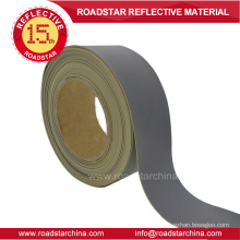 Reflectivity 450 high silver reflective PVC foam leather