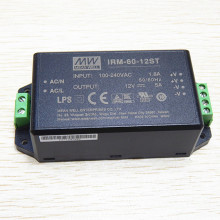 MEANWELL miniatura de 1W a 60W com conversor de corrente alternada de terminal de parafuso 60W IRM-60-12ST
