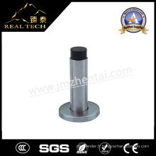 Bouchon de porte en caoutchouc en tôle d'acier en acier inoxydable avec base