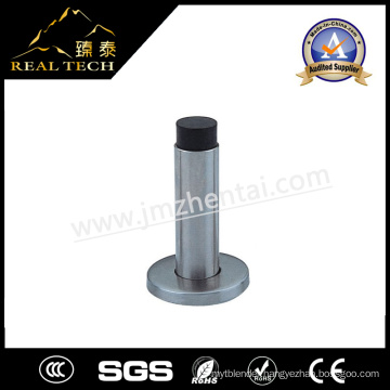 Stainless Steel Tube Door Stopper Rubber Tube Stoppers with Base