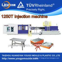 Machine de fabrication de table en plastique / machine de moulage par injection plastique 1250T