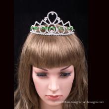 2016 nuevas tiaras al por mayor del rhinestone de la corona