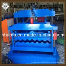 New Type Step Tile Roll Forming Machine (AF-G1100)