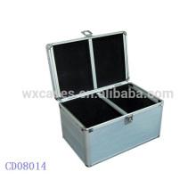 Boîtier de CD aluminium 200 CD disques fabricant, Chine