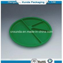 Placa de plástico con divisores