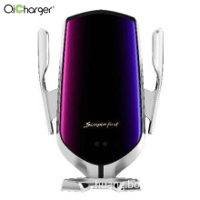 Luxury Infrared Auto  Wireless Car Charger