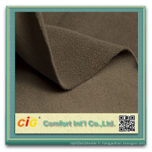 Tissu en polaire / polaire pour vêtement / Tissu / Couverture
