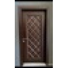 Diamond Design Luxo de alta qualidade Pvc Coated WPC Door