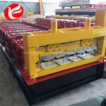 Rouleau d'acier de couleur de toiture en zinc de haute qualité formant la machine