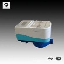 medidor de agua de tarjeta prepaga inalámbrico IC para proyecto de suministro de agua de la comunidad