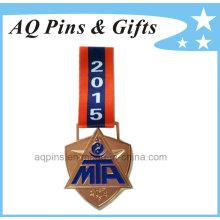 Médaille Mta 2015 avec ruban de transfert de chaleur