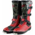 Hot Style Leder Motorrad wasserdichte Schuhe China Motocross Racing Boots