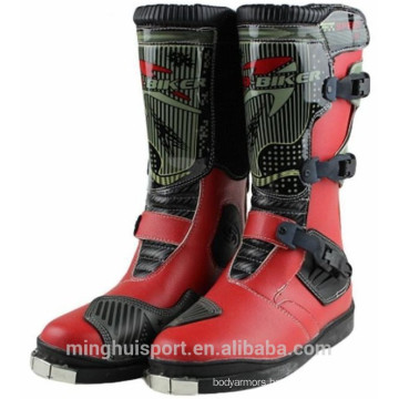 Hot style Leather Motorcycle Waterproof Shoes China Motocross Racing Boots