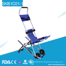 SKB1C01-1 Aluminum Alloy Ambulance Emergency Downstairs Chair Stretcher