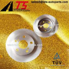 Freno de auto 4351212670 disco de freno ventilado para TOYOTA