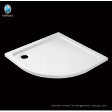 Hot sell bathroom Sector Corner acrylic Shower tray
