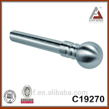 C19270 high quality elegant chrome curtain rod, electric curtain pole accessories