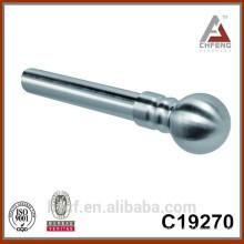 C19270 high quality elegant chrome curtain rod, electric curtain pole accessories