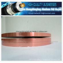 Copper Color Ruban d'aluminium en feuille d'aluminium (al-pet) Film Al / Mylar Tape