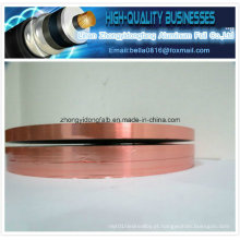 Cor de cobre Folha de alumínio laminado Pet Tape (al-pet) Filme Al / Mylar Tape