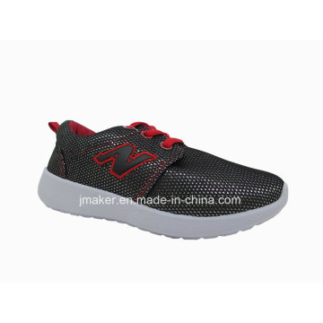 Comfort PVC Injection Running Shoes for Children (DA02-B)