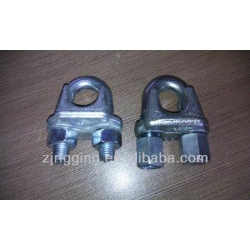 Grampo de cabo de aço maleável galvanizado (pile driver especial)