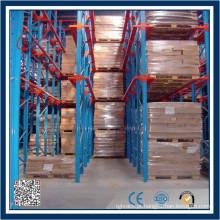 Sistema automático de armazenamento de paletes de armazenamento e recuperação (ASRS)