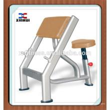 nombres de equipos de gimnasia / máquina de construcción corporal / entrenador de gimnasia integrado XR-9940 banco de Scott