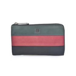 MK Field Continental Women Leather Wallet Gift