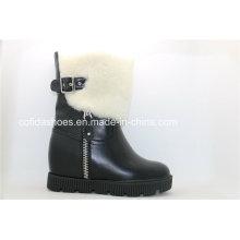 OEM High Heels Warm Women′s Snow Boots