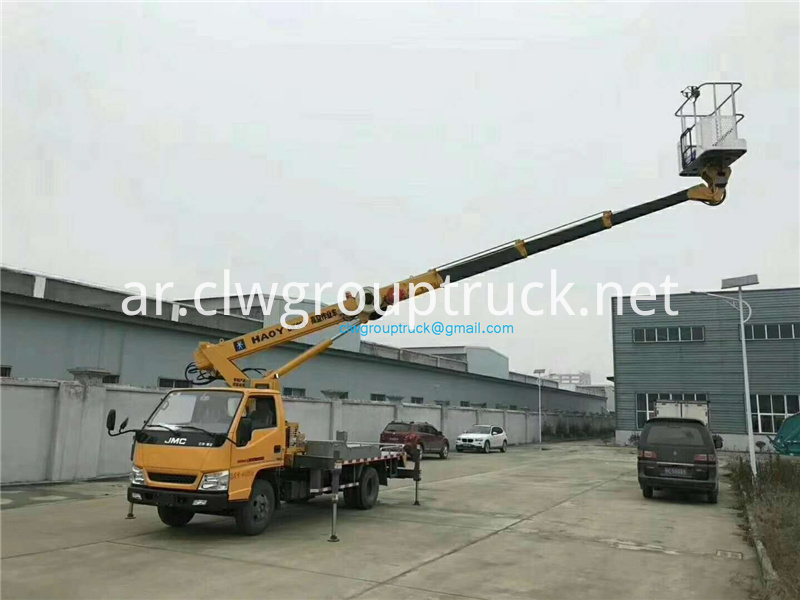 20 M Straight Arm Telescopic Aerial Work Vehicle 7