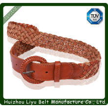 wholesale 2014 new style cord braid pu belts