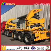 40feet Container Chassis Self Loading Sidelifter Side Loader Trailer