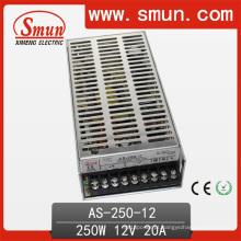Fonte de alimentação do interruptor da saída do único tamanho de 250W 12V / 15V / 24V única