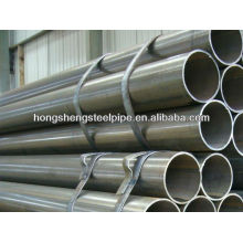 ASTM A513 ERW tube/pipe steel round for construction large diameter