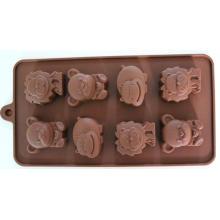 Lovely Animal Shape Silicone Cake Mold FDA Ice Tray